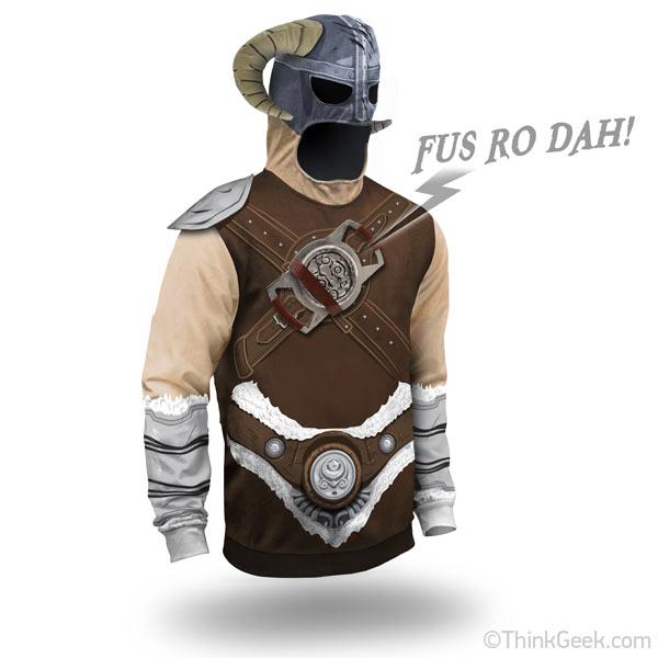 The Elder Scrolls V Skyrim Dragon Shout Hoodie