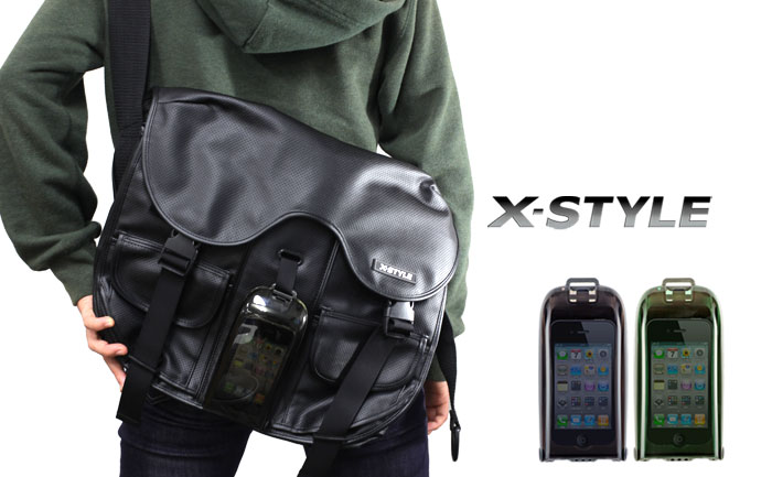 X-Style Messenger Bag with iPhone 4 Case