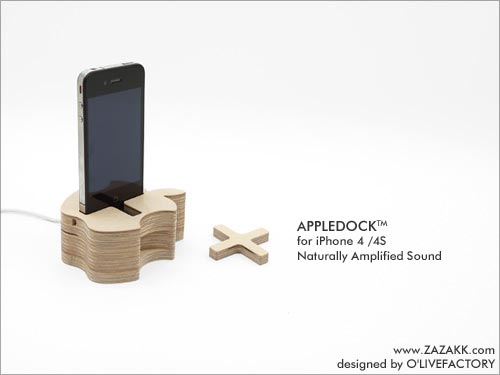 Zazakk Appledock iPhone Dock