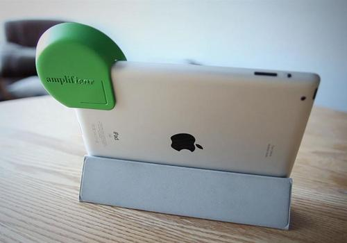 Amplifiear Amplifies The Sound of Your iPad