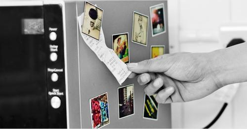 Personalized Instagram Fridge Magnet Set