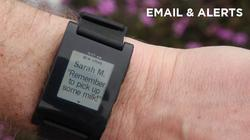 Pebble E-Paper Watch for iPhone and Android Phone