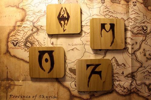 The Elder Scrolls V Skyrim Coaster Set