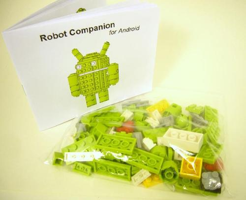Android Robot LEGO Brick Building Kit