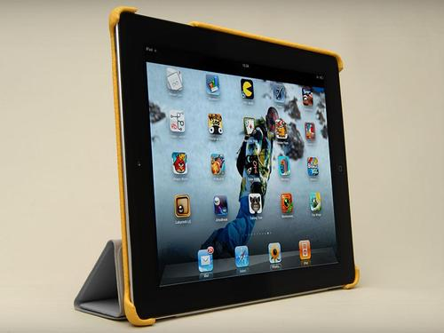 Vaja Smart Grip Leather iPad 3 Case