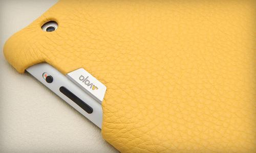 Vaja Smart Grip Leather iPad 3 Case
