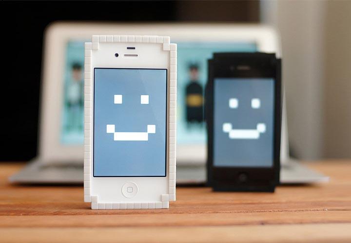 8-Bit Bumper iPhone 4 Case