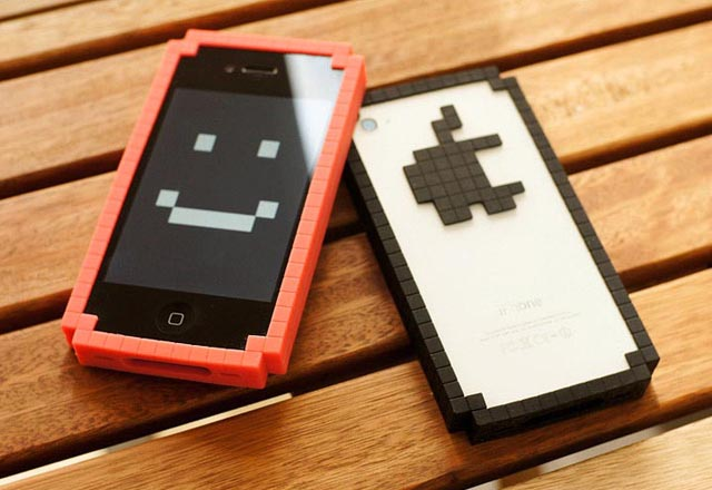 8-Bit Bumper iPhone 4 Case