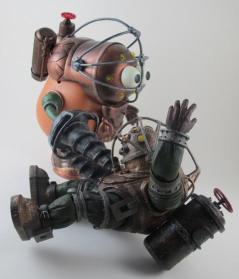 BioShock Big Daddy Styled Mr. Potato Head