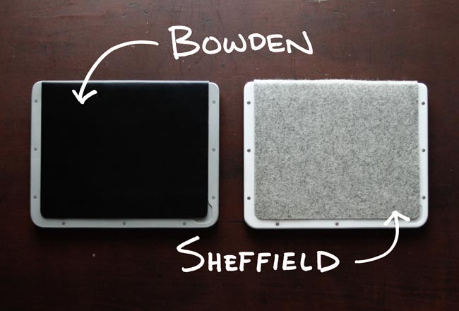 Bowden and Sheffield iPad 3 Cases