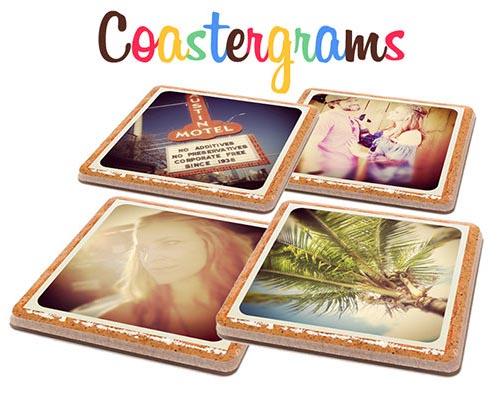 Customizable Instagram Coaster Set