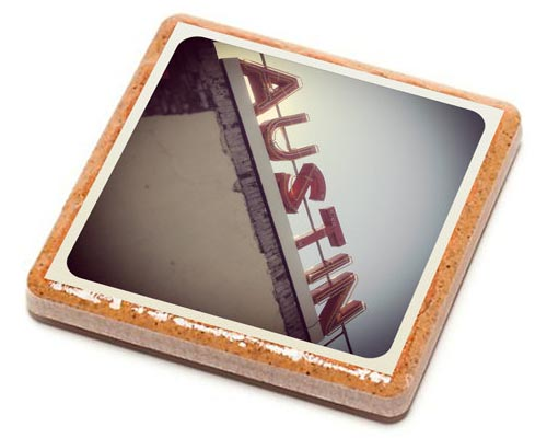 Customizable Instagram Coaster Set