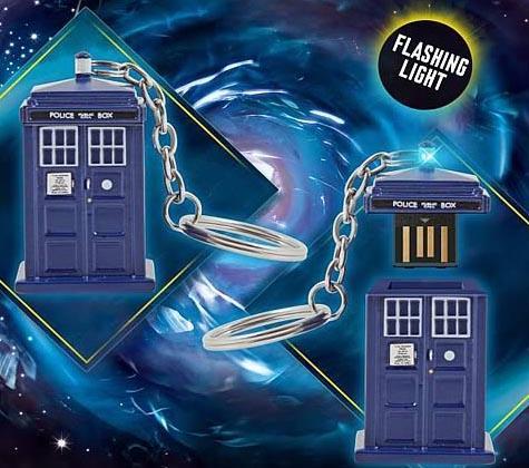 Doctor Who TARDIS USB Flash Drive