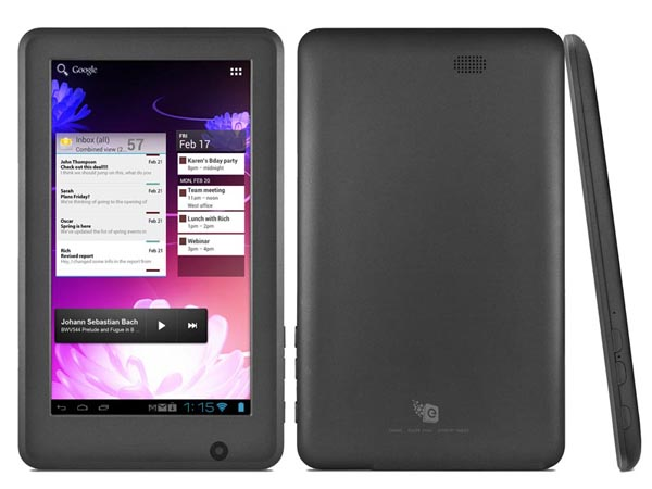 Ematic eGlide Steal Android Tablet