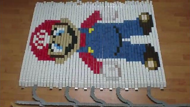Fan Made Nintendo Domino Video