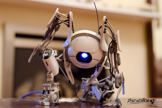 Fan Made Portal 2 Atlas Figure