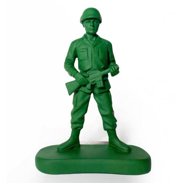 Homeguard Toy Soldier Styled Book End Gadgetsin