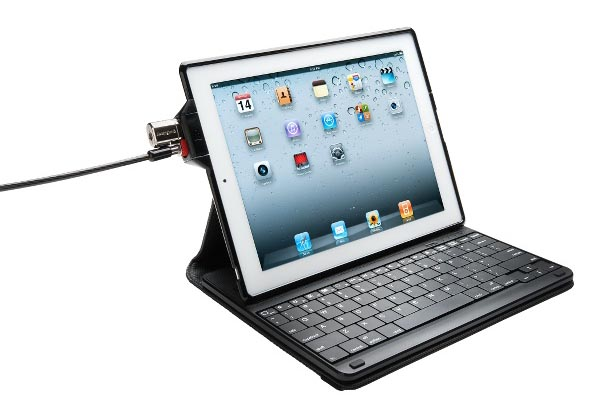 Kensington KeyFolio Security iPad 2 Case with Wireless Keyboard and ClickSafe Lock