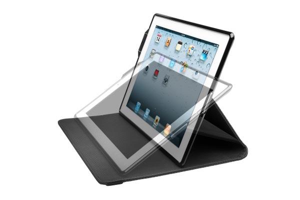 Kensington KeyFolio Security iPad 2 Case with Wireless Keyboard and ClickSafe Lock