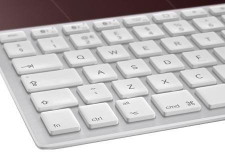 logitech k760 solar bluetooth wireless keyboard gadgetsin. Black Bedroom Furniture Sets. Home Design Ideas