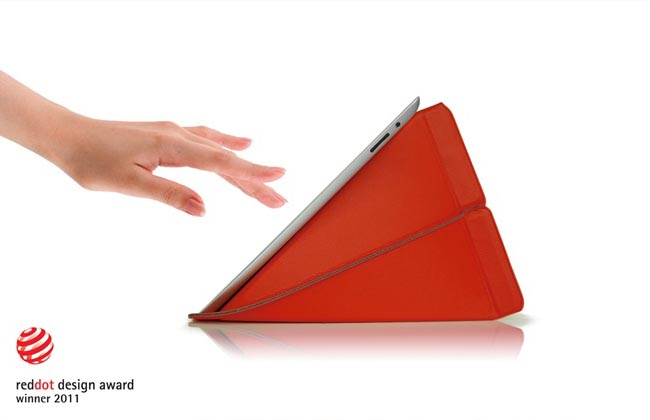 Origami Inspired Smart Stand Protective Sleeve