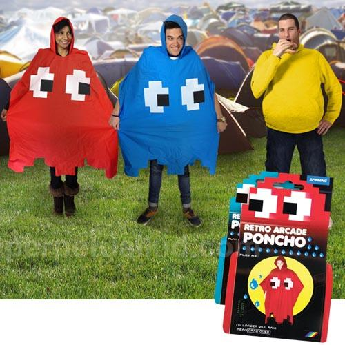 Pacman Ghost Styled Poncho