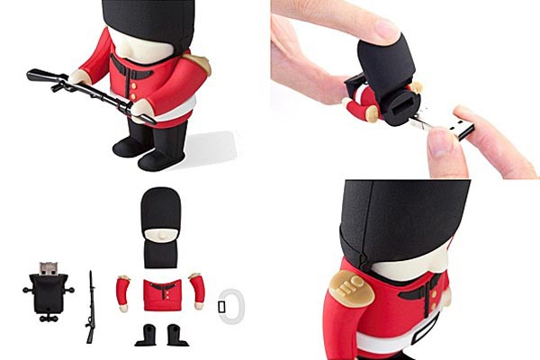 Queen's Guard USB Flash Drive