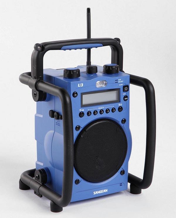 Sangean U-3 Potable AM-FM Radio and Speaker System