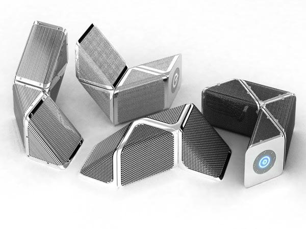 Snakes Concept Portable Speaker System