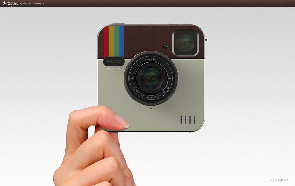 Socialmatic Instagram Inspired Digital Camera Gadgetsin