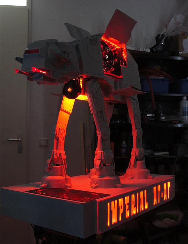 Star Wars AT-AT Computer Case Mod