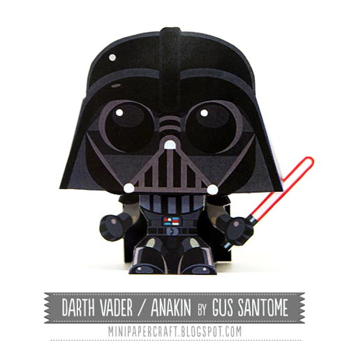 Star Wars Darth Vader Paper Craft