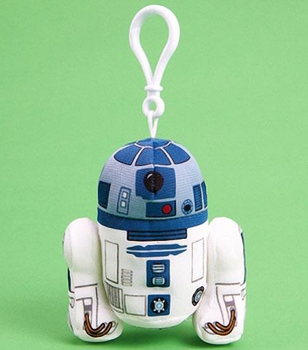 Star Wars Mini Plush Keychain Gadgetsin