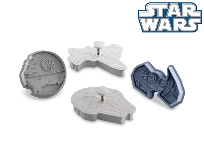 Star Wars Vehicles Cookie Cutter Set