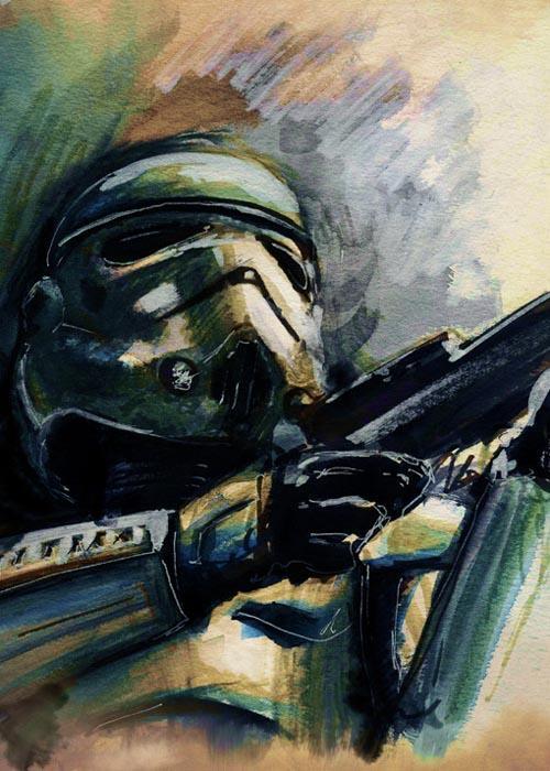 Star Wars Watercolor P...C 3po