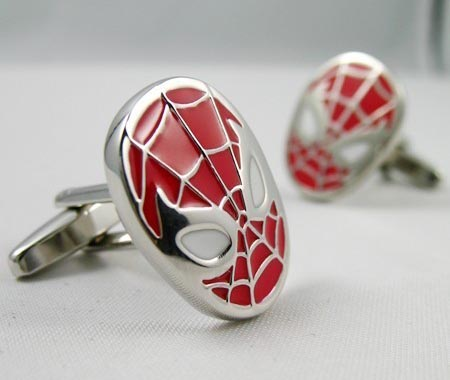 Superhero Themed Cufflinks
