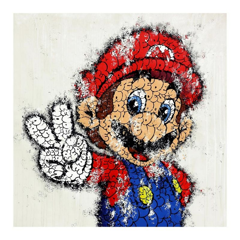 That ionic 8-bit mushroom kingdom had been changed by tilt with his