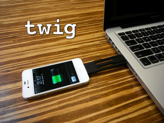 Twig Ultra Portable Sync & Charging Cable for iPhone