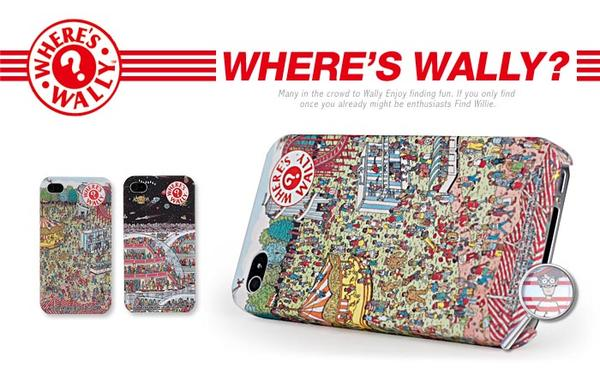 Where's Wally? iPhone 4 Case