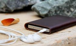 Minimalistic Leather iPhone 4 Case