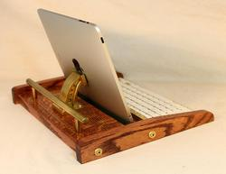 Steampunk Docking Station with Bluetooth Keyboard