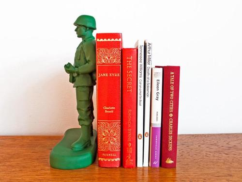 Homeguard Toy Soldier Styled Book End