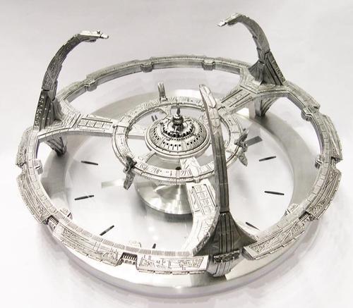 Star Trek Deep Space Wall Clock