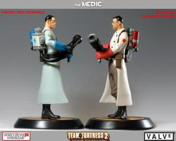 Team Fortress 2 The Medic Collectible Figure