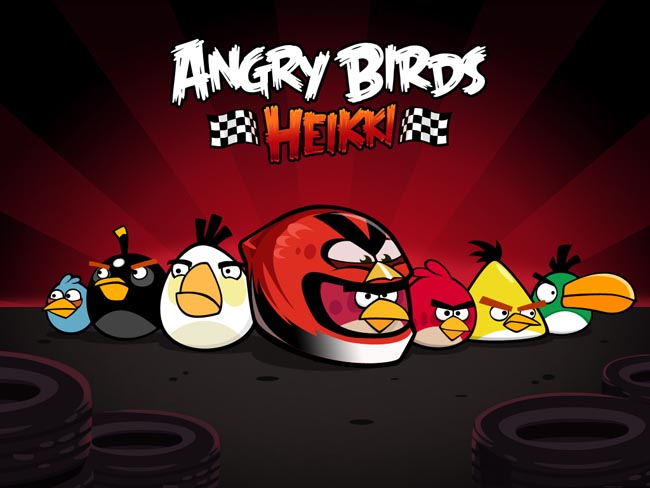 Angry Birds Heikki Launched for Web First