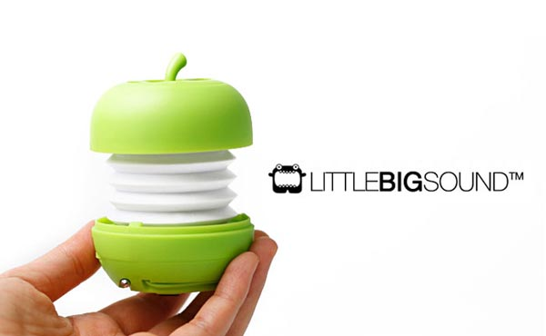 Apple Shaped Portable Speaker