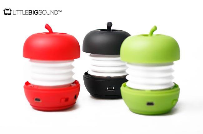 Apple Shaped Portable Speaker