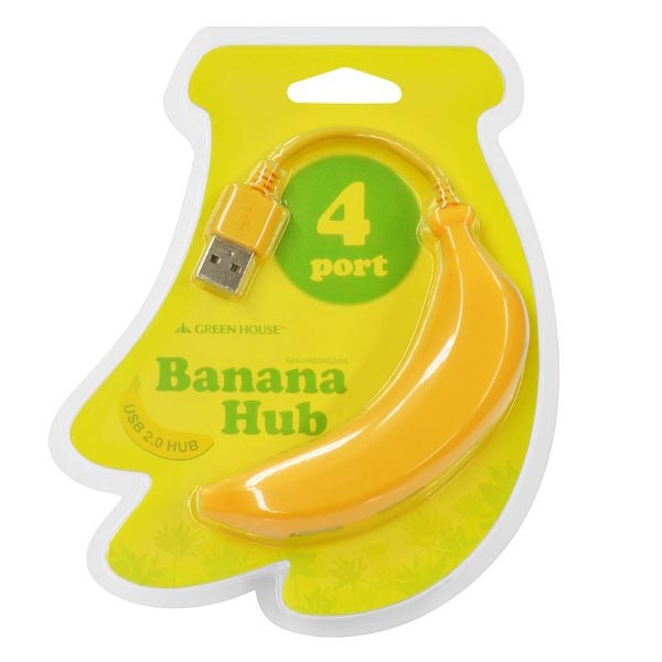 Banana Type USB Hub