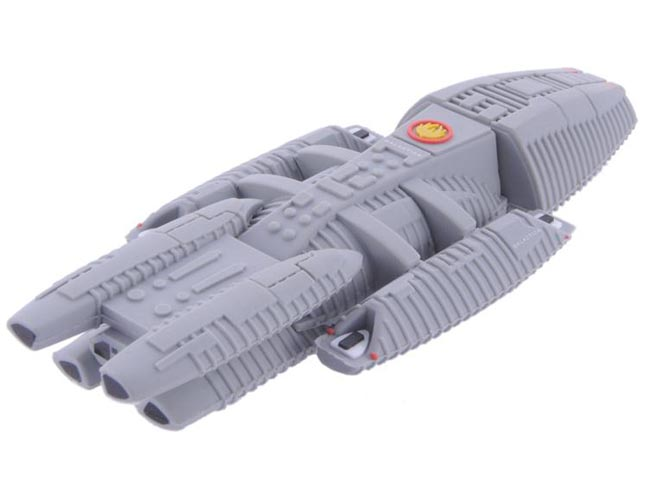 Battlestar Galactica Scaled Replica USB Flash Drive