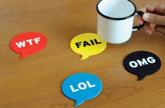 Chat Drink Coaster Set